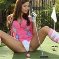 Can your favourite gal play golf