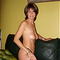 Hot brunette amateur mature