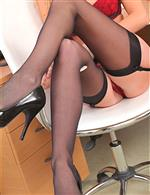 Stockings: Crotchless (or with