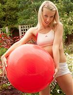 Exercise Ball, Fit Ball, fitba