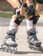Shoes: rollerblades