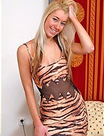 Ariana from Karup, charming blonde babe