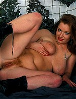 Beauty Redhead from Chubbyloving