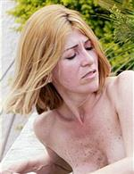Blond mature interracial