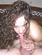 Hair: curly