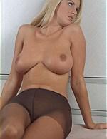 Hot blonde mature?