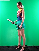 beautiful girl with baseball bat from andys collection
