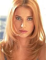 blonde blueyed girl, sexy poses