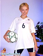 blonde soccer girl from Youngporn