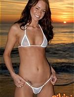 brunette gal from bikinidream