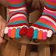 Socks toe socks