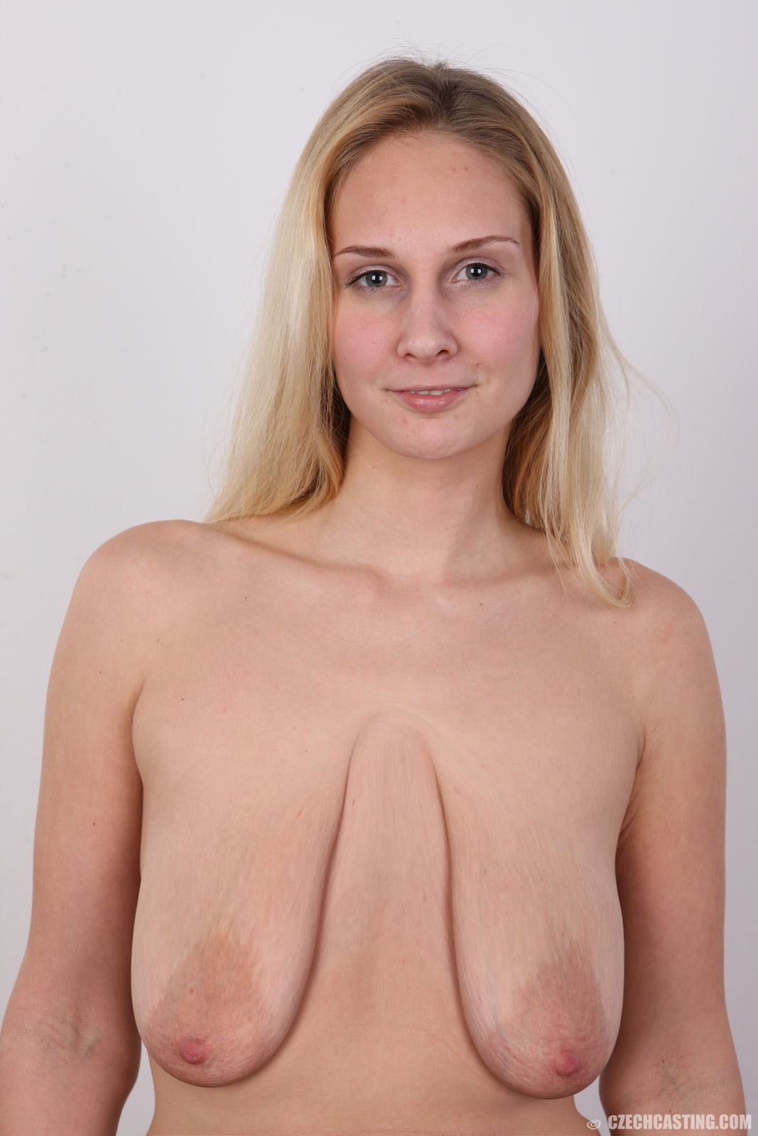 Right! Slim large breast nude older women